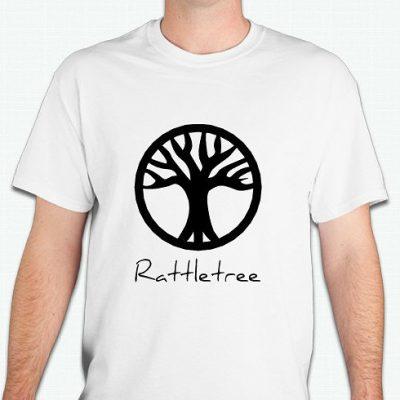 rattletree logo shirt