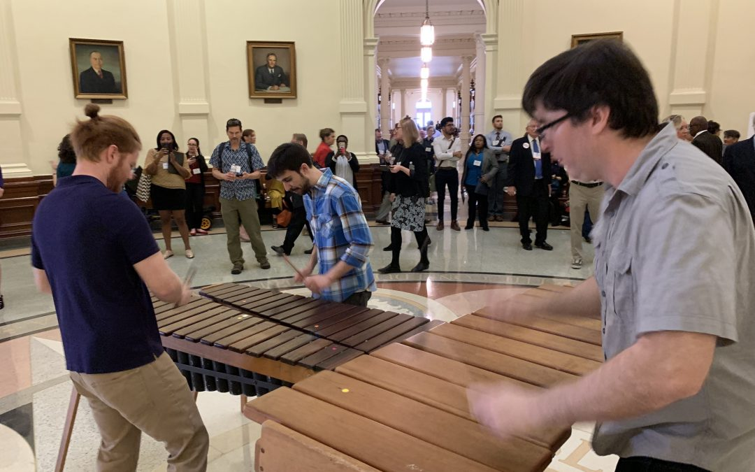 Rocking the Texas State Capitol for Texans For The Arts